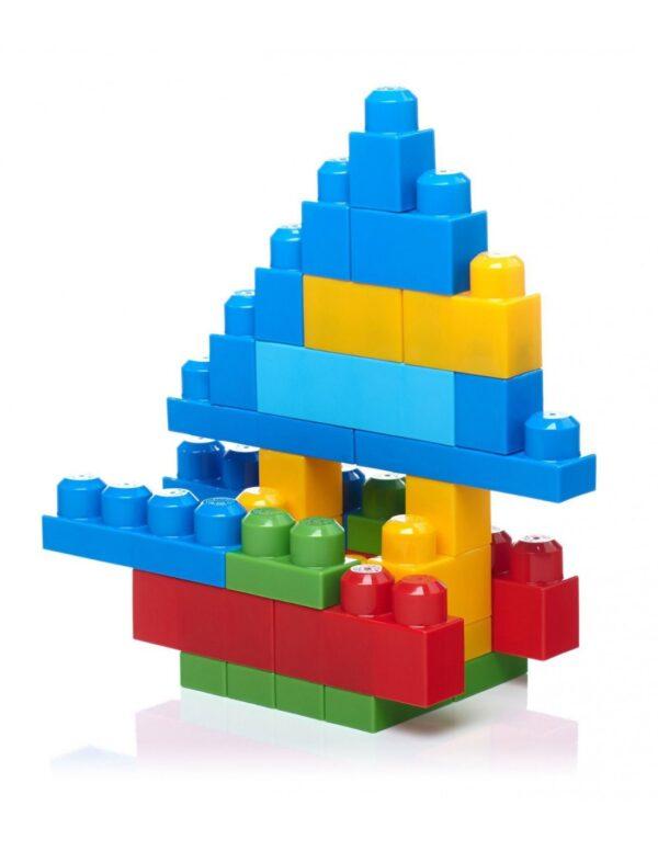 Mega Bloks  Mega Bloks First Builders Τσάντα 60 τεμαχίων Αγόρι, Κορίτσι 2-3 ετών, 3-4 ετών, 4-5 ετών