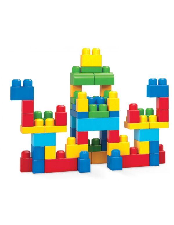 Mega Bloks First Builders Τσάντα 60 τεμαχίων  Αγόρι, Κορίτσι 2-3 ετών, 3-4 ετών, 4-5 ετών Mega Bloks