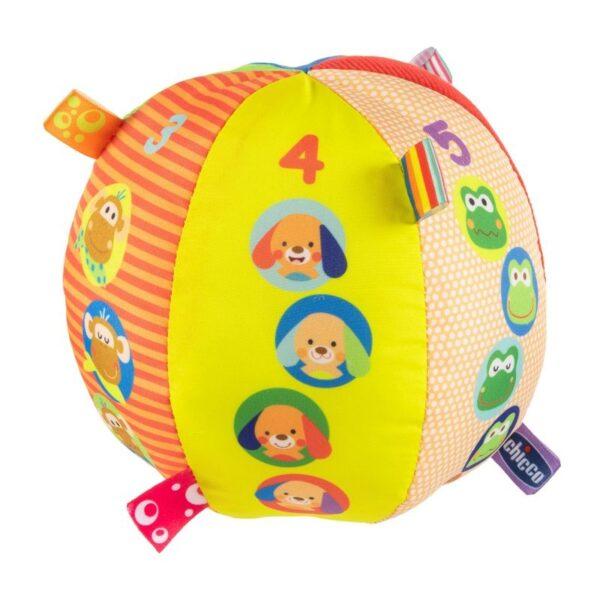Chicco Musical Ball Μουσική Μπαλίτσα 15 Εκ. Y03-10058-00 Chicco Αγόρι, Κορίτσι 0-6 μηνών, 12-24 μηνών, 6-12 μηνών
