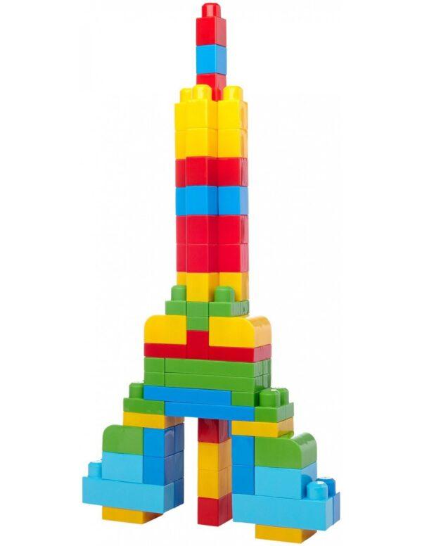 Mega Bloks Αγόρι, Κορίτσι 2-3 ετών, 3-4 ετών, 4-5 ετών Mega Bloks First Builders Τσάντα 60 τεμαχίων
