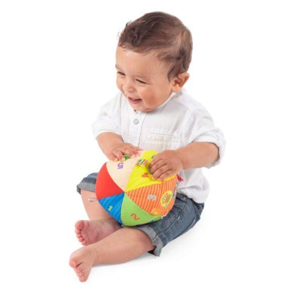 Chicco Musical Ball Μουσική Μπαλίτσα 15 Εκ. Y03-10058-00  Αγόρι, Κορίτσι 0-6 μηνών, 12-24 μηνών, 6-12 μηνών Chicco