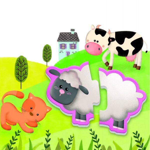 ΕΞΥΠΝΟΥΛΗΣ  Εξυπνούλης Οι Φίλοι Μας Τα Ζώα 1024-63341 Αγόρι, Κορίτσι 2-3 ετών, 3-4 ετών