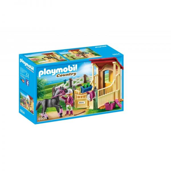 Playmobil Country Αραβικό Άλογο Με Στάβλο 6934 Playmobil, Playmobil Country Αγόρι, Κορίτσι 5-7 ετών, 7-12 ετών