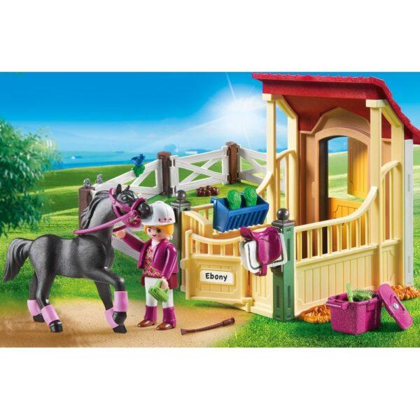 Playmobil, Playmobil Country  Playmobil Country Αραβικό Άλογο Με Στάβλο 6934 Αγόρι, Κορίτσι 5-7 ετών, 7-12 ετών