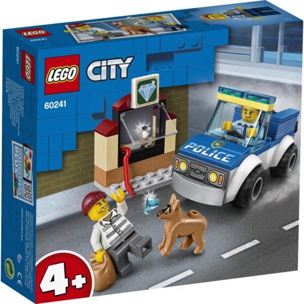 LEGO City Police Μονάδα Αστυνομικών Σκύλων 60241 LEGO, Lego City Αγόρι 4-5 ετών, 5-7 ετών