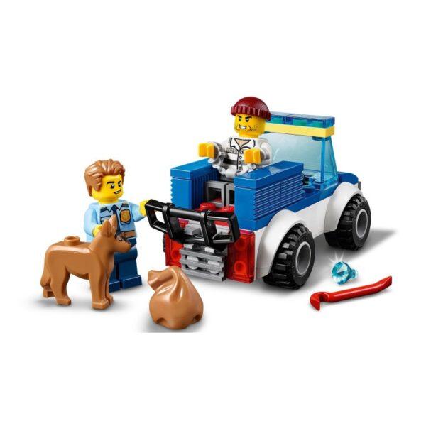 LEGO, Lego City Αγόρι 4-5 ετών, 5-7 ετών LEGO City Police Μονάδα Αστυνομικών Σκύλων 60241