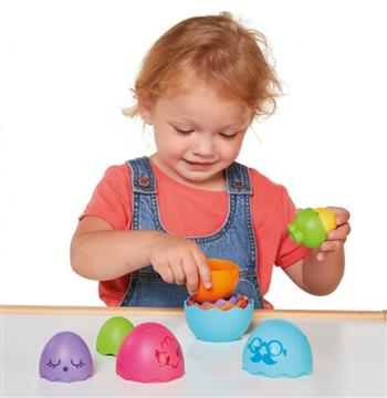 Toomies Αγόρι, Κορίτσι 12-24 μηνών, 6-12 μηνών Tomy Toomies Αυγουλάκια Στη Φωλιά 1000-73080
