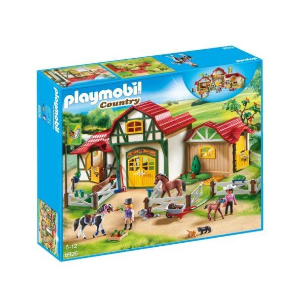 Playmobil Country Μεγάλος Ιππικός Όμιλος 6926 Playmobil, Playmobil Country Αγόρι, Κορίτσι 5-7 ετών, 7-12 ετών