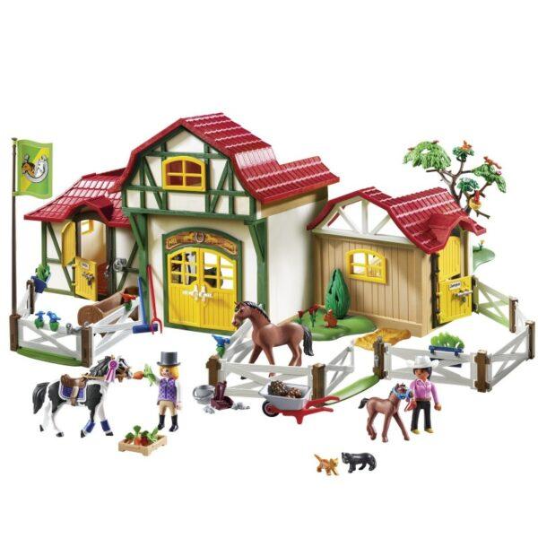 Playmobil Country Μεγάλος Ιππικός Όμιλος 6926  Αγόρι, Κορίτσι 5-7 ετών, 7-12 ετών Playmobil, Playmobil Country