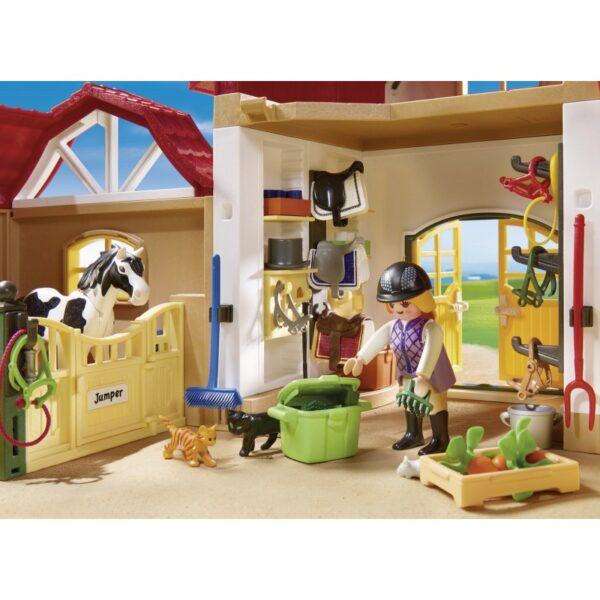 Playmobil, Playmobil Country Αγόρι, Κορίτσι 5-7 ετών, 7-12 ετών Playmobil Country Μεγάλος Ιππικός Όμιλος 6926
