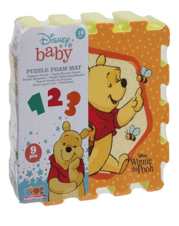 Baby Smile Χαλάκι EVA Winnie The Pooh Baby Smile Αγόρι, Κορίτσι