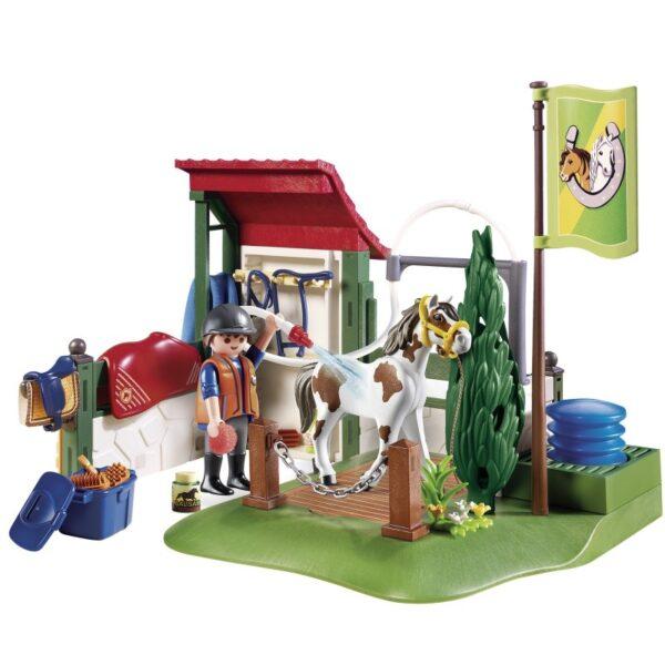 Playmobil Country Σταθμός Περιποίησης Αλόγων 6929  Αγόρι, Κορίτσι 5-7 ετών, 7-12 ετών Playmobil, Playmobil Country