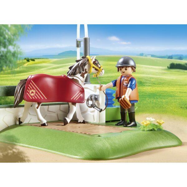 Playmobil, Playmobil Country Αγόρι, Κορίτσι 5-7 ετών, 7-12 ετών Playmobil Country Σταθμός Περιποίησης Αλόγων 6929