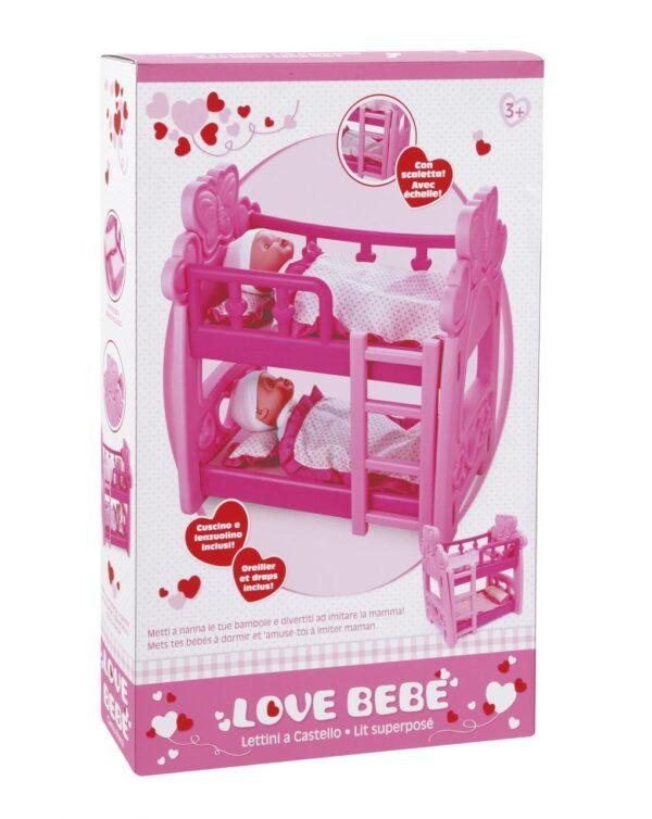 Love Bebe Κρεβάτι Κούκλας Love Bebe' Κορίτσι