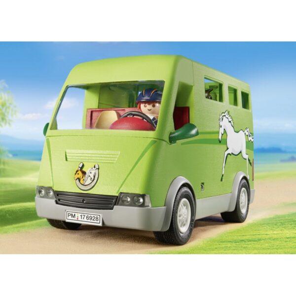 Playmobil Country Όχημα Μεταφοράς Αλόγων 6928 Αγόρι, Κορίτσι 5-7 ετών, 7-12 ετών  Playmobil, Playmobil Country