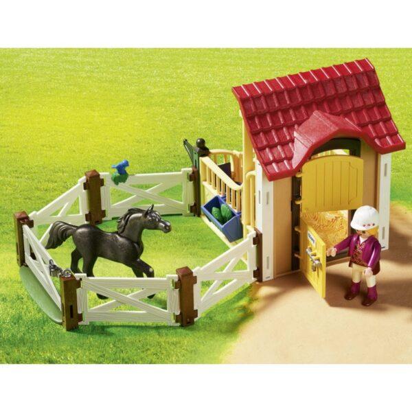 Playmobil Country Αραβικό Άλογο Με Στάβλο 6934 Αγόρι, Κορίτσι 5-7 ετών, 7-12 ετών  Playmobil, Playmobil Country