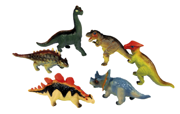 Animal World Δεινόσαυρος 6 σχέδια Animal World Αγόρι