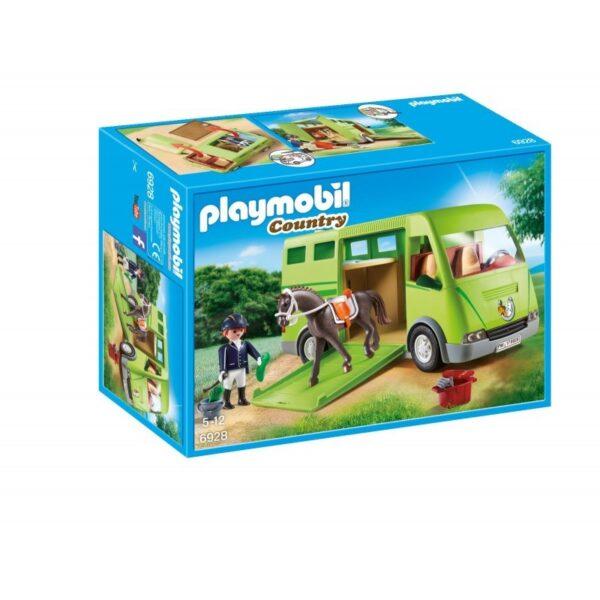 Playmobil Country Όχημα Μεταφοράς Αλόγων 6928 Playmobil, Playmobil Country Αγόρι, Κορίτσι 5-7 ετών, 7-12 ετών