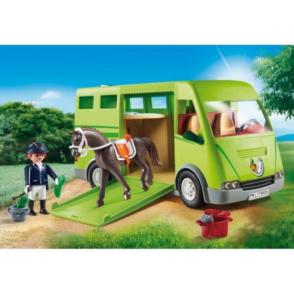 Playmobil, Playmobil Country  Playmobil Country Όχημα Μεταφοράς Αλόγων 6928 Αγόρι, Κορίτσι 5-7 ετών, 7-12 ετών