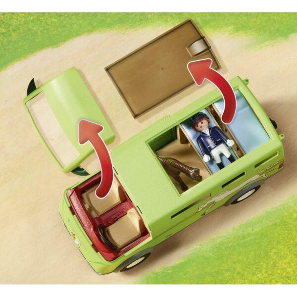 Playmobil, Playmobil Country Αγόρι, Κορίτσι 5-7 ετών, 7-12 ετών Playmobil Country Όχημα Μεταφοράς Αλόγων 6928