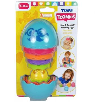 Tomy Toomies Αυγουλάκια Στη Φωλιά 1000-73080  Αγόρι, Κορίτσι 12-24 μηνών, 6-12 μηνών Toomies