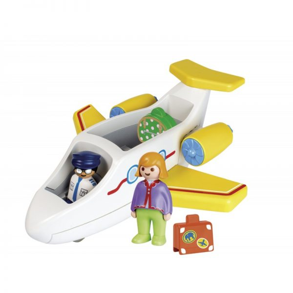 Playmobil 1.2.3 Αεροπλάνο Με Επιβάτη 70185  Αγόρι, Κορίτσι 12-24 μηνών, 2-3 ετών Playmobil, Playmobil 1.2.3