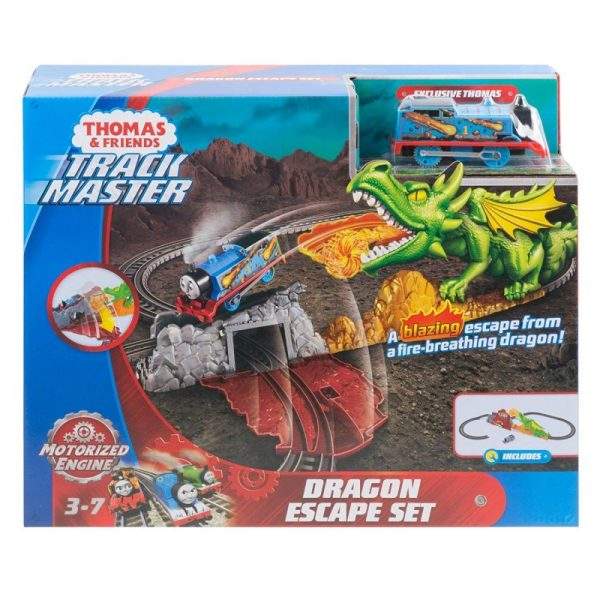 Thomas And Friends Trackmaster Απόδραση Από Τον Δράκο(Με Τον Τόμας) FXX66  Αγόρι 3-4 ετών, 4-5 ετών Fisher-Price