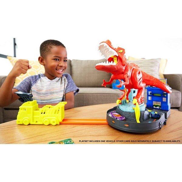 Hot Wheels  Hot Wheels T-Rex Rampage Δεινόσαυρος Τ-Ρεξ Με Ήχους GFH88 Αγόρι 3-4 ετών, 4-5 ετών