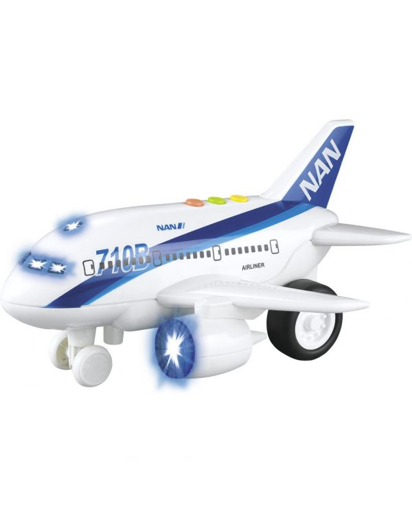 Baby Smile Αεροπλάνοο με Φώτα και ήχους Baby Smile Αγόρι