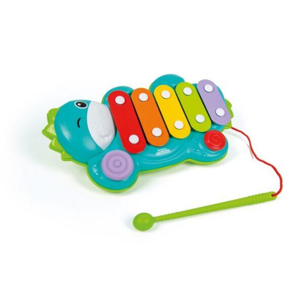Baby Clementoni Μουσικό Ξυλόφωνο Δεινοσαυράκι 1000-17263 Baby Clementoni Αγόρι, Κορίτσι 12-24 μηνών, 6-12 μηνών