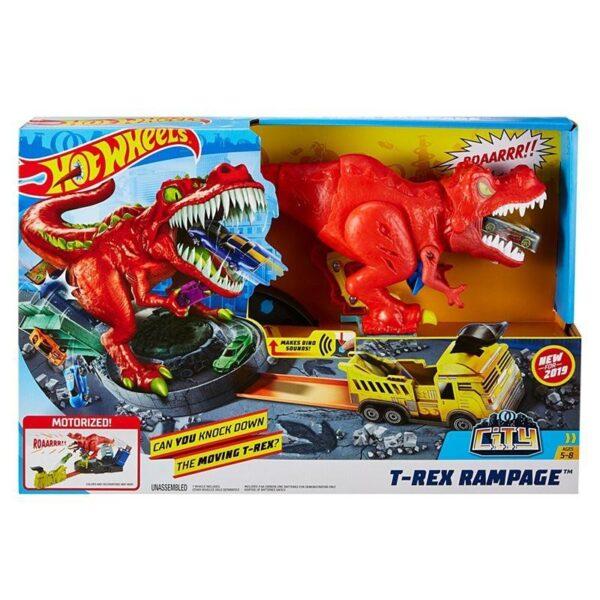 Hot Wheels T-Rex Rampage Δεινόσαυρος Τ-Ρεξ Με Ήχους GFH88  Αγόρι 3-4 ετών, 4-5 ετών Hot Wheels