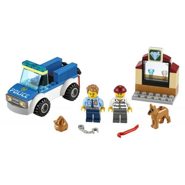 LEGO City Police Μονάδα Αστυνομικών Σκύλων 60241 4-5 ετών, 5-7 ετών Αγόρι LEGO, Lego City