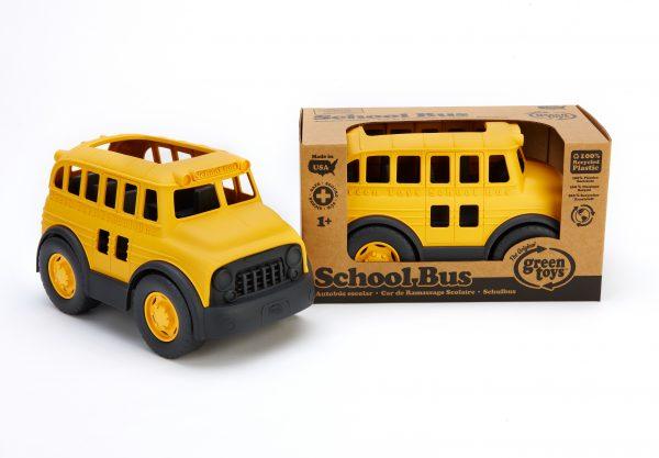 Green Toys: Σχολικό Λεωφορείο SCHY-1009  Αγόρι, Κορίτσι 12-24 μηνών, 2-3 ετών Green Toys