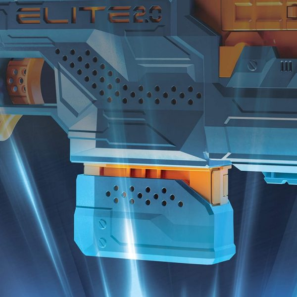 Nerf Elite 2.0 Phoenix Cs-6 Με 12 Βελάκια, 6-Βελάκια E9961 12 ετών +, 7-12 ετών Αγόρι NERF