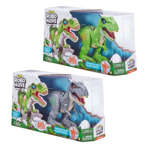 Robo alive Δεινόσαυρος Αυγό Slime 1863-27127 ROBO ALIVE Αγόρι 3-4 ετών, 4-5 ετών