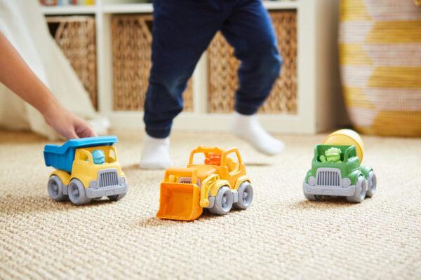 Green Toys Αγόρι 2-3 ετών, 3-4 ετών Green Toys: Κατασκευαστικά Οχήματα Σετ 3 τεμαχίων CST3-1209
