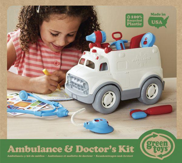 Green Toys: Ασθενοφόρο και Σετ Γιατρού AMDK-1313 Αγόρι, Κορίτσι 2-3 ετών, 3-4 ετών  Green Toys