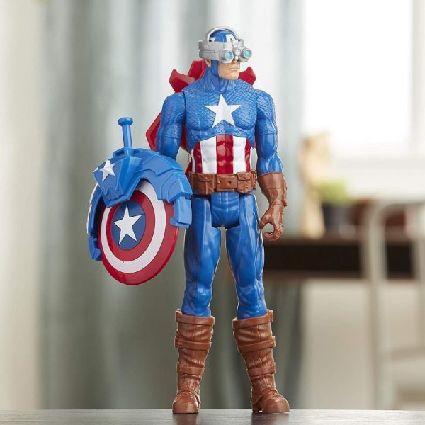 Avengers Titan Heerro Innovation Captain America E7374 4-5 ετών, 5-7 ετών, 7-12 ετών Αγόρι Avengers Avengers