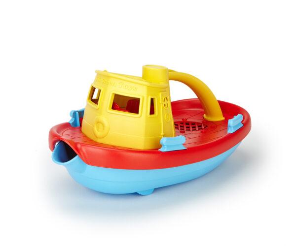 Green Toys  Green Toys: Ρυμουλκό Πλοίο Κίτρινο TUG01R-Y Αγόρι 12-24 μηνών, 6-12 μηνών