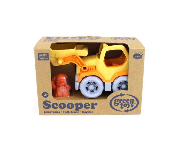 Green Toys: Εκσκαφέας Φορτηγό Πορτοκαλί/Κίτρινο CSCO-1106 Green Toys Αγόρι 2-3 ετών, 3-4 ετών