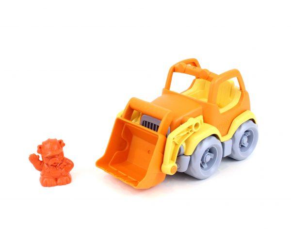 Green Toys: Εκσκαφέας Φορτηγό Πορτοκαλί/Κίτρινο CSCO-1106 Αγόρι 2-3 ετών, 3-4 ετών  Green Toys