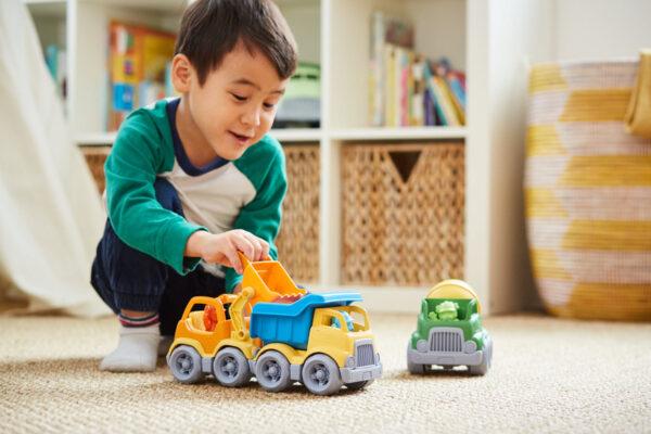 Green Toys: Κατασκευαστικά Οχήματα Σετ 3 τεμαχίων CST3-1209 2-3 ετών, 3-4 ετών Αγόρι Green Toys