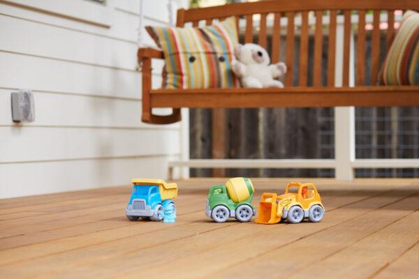 Green Toys: Κατασκευαστικά Οχήματα Σετ 3 τεμαχίων CST3-1209 Green Toys 2-3 ετών, 3-4 ετών Αγόρι