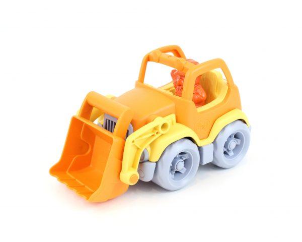 Green Toys Αγόρι 2-3 ετών, 3-4 ετών Green Toys: Εκσκαφέας Φορτηγό Πορτοκαλί/Κίτρινο CSCO-1106