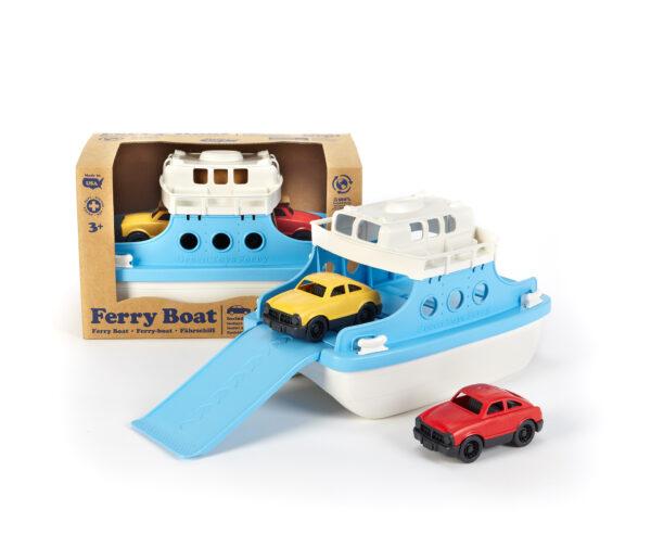 Green Toys Αγόρι 3-4 ετών, 4-5 ετών Green Toys: Φέρι Μποτ με Αυτοκίνητα FRBA-1038
