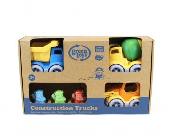 Green Toys  Green Toys: Κατασκευαστικά Οχήματα Σετ 3 τεμαχίων CST3-1209 Αγόρι 2-3 ετών, 3-4 ετών