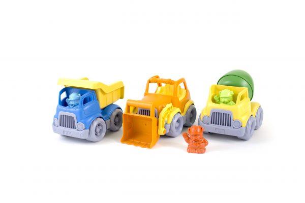 Green Toys: Κατασκευαστικά Οχήματα Σετ 3 τεμαχίων CST3-1209  Αγόρι 2-3 ετών, 3-4 ετών Green Toys