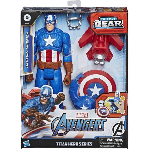 Avengers Titan Heerro Innovation Captain America E7374 Avengers Αγόρι 4-5 ετών, 5-7 ετών, 7-12 ετών Avengers