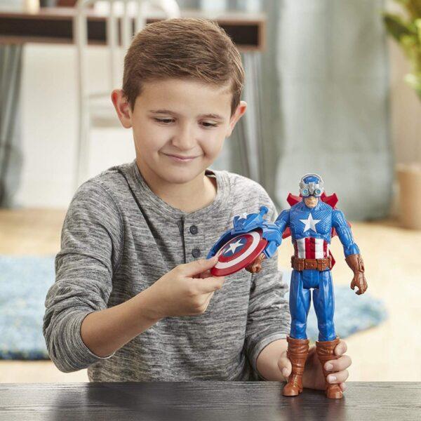 Avengers Avengers Αγόρι 4-5 ετών, 5-7 ετών, 7-12 ετών Avengers Titan Heerro Innovation Captain America E7374