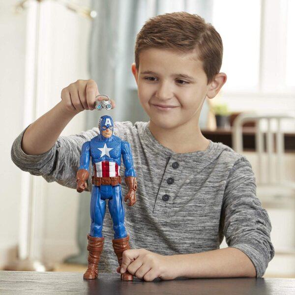 Avengers Titan Heerro Innovation Captain America E7374 Αγόρι 4-5 ετών, 5-7 ετών, 7-12 ετών Avengers Avengers